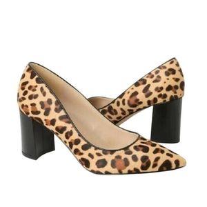 Marc Fisher leopard calf hair pump sz 6.5 US